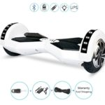 style hoverboard 8 white