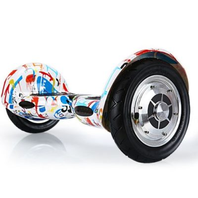 Graffiti white 10 inch hoverboards 2