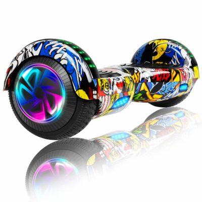 Hoverboards India T6 – 6.5″, LED Wheels, Remote, Skullcandy