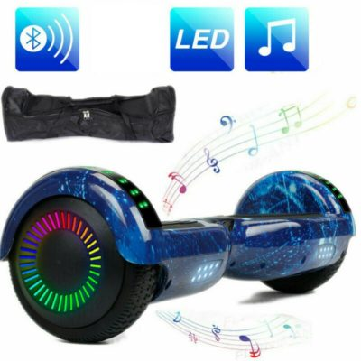 Hoverboards India T6 – 6.5″, LED Wheels, Remote, Milkyway