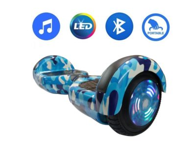 6.5 inch blue miltery hoverboard 1