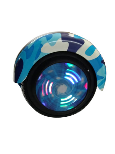 6.5 inch blue miltery hoverboard 3