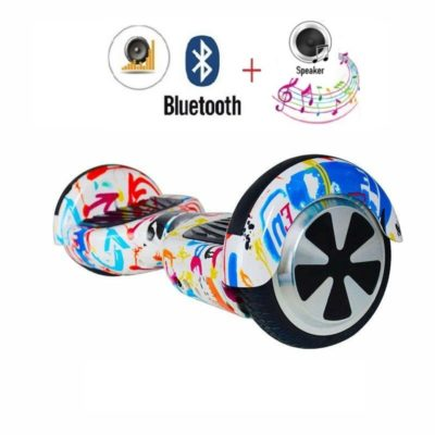 Hoverboards India T6 – 6.5″, LED Wheels, Remote, Doodle