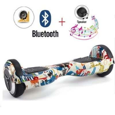 6.5 inch doodle hoverboard with bluetooth