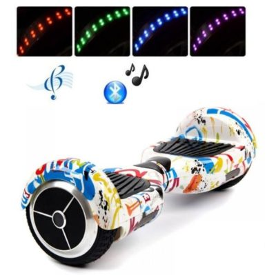 6.5 inch doodle hoverboard with led wheel
