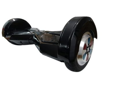 8 inch black hoverboard with carrying handle 4