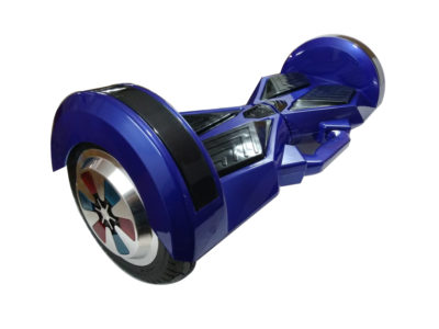 8 inch blue hoverboard with carrying handle 3