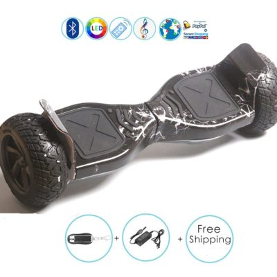 Hoverboards India T9 – Off Road, Self Balancing Scooter, Black