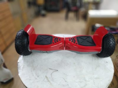 Red off road hoverboard2