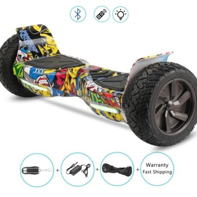 Hoverboards India T9 – Off Road, Self Balancing Scooter, Skullcandy