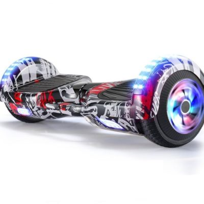 Hoverboards India T6 – 6.5″, LED Wheels, Bluetooth, Street