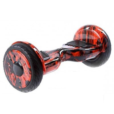 10 Inch off road hoverboard red fire1