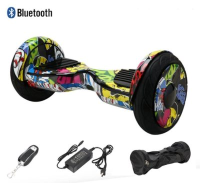 10 inch off road hoverboard hip hop