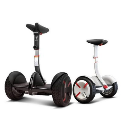 Electric Scooter Segway Mini Pro, Black & White – Adjustable Handle