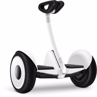 Electric Scooter Mini Robot, Black & White
