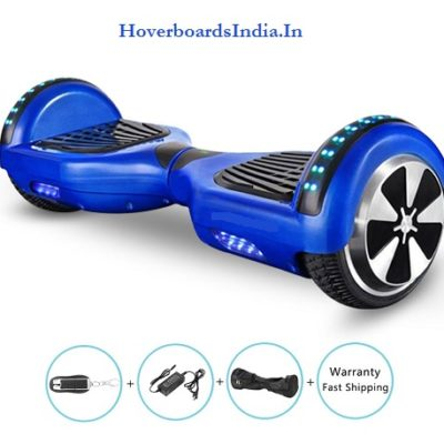 Hoverboards India T6: Blue Color, Bluetooth and Free Carry Bag
