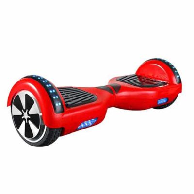 Hoverboards India T6: Red Color, Bluetooth and Free Carry Bag